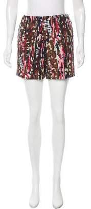 Marni Printed High-Rise Shorts