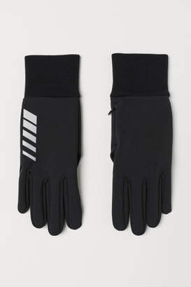 H&M Running Gloves - Black