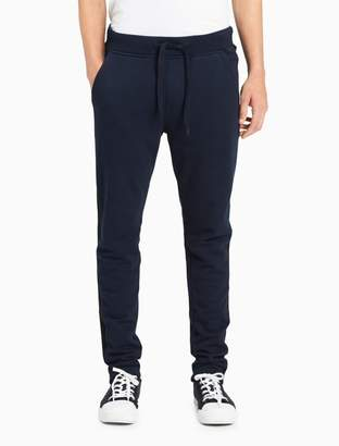 Calvin Klein tapered striped jogger sweatpants