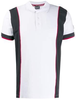 Emporio Armani Ea7 rear logo polo shirt