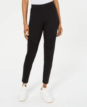 Material Girl Juniors' High-Rise Moto Leggings, Created for Macy's