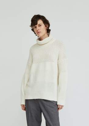 Jil Sander Turtleneck Wool Angora Sweater