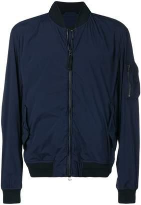 HUGO BOSS sleeve pocket bomber jacket