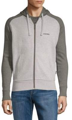 Diesel Brianz Colorblock Cotton Sweatshirt