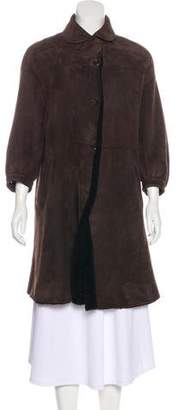Marni Shearling Knee-Length Coat