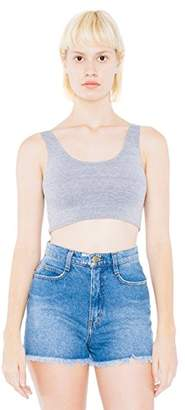 American Apparel Women's Cotton Spandex Crop Tank $10.50 thestylecure.com