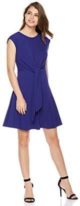 Painted Heart Women's Tie-Front Knit Jersey Dress