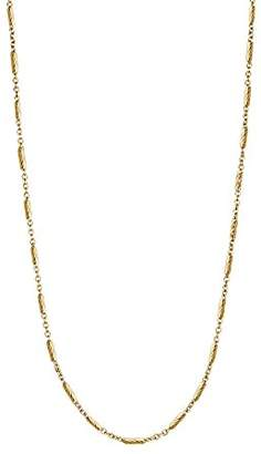 """Decadence Unisex Sterling Silver 1.40mm 22"""" Tube Chain Pendant Necklace"""