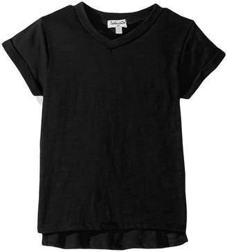 Splendid Littles Always Basic Short Sleeve Tee Girl's T Shirt