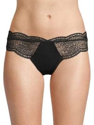 Calvin Klein Crackled Lace Bikini Panty