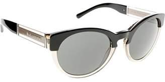 Burberry Women's 0BE4205 355887 Sunglasses, Top Black Grey