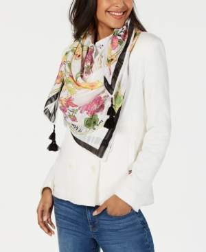 INC International Concepts I.n.c. Garden Trellis Square Scarf, Created for Macy's