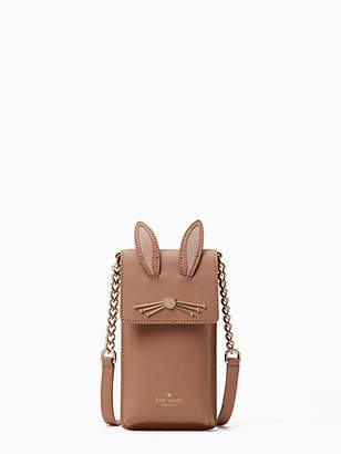Kate Spade North south rabbit crossbody iPhone case