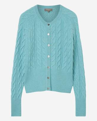 N.Peal Cable Cashmere Cardigan