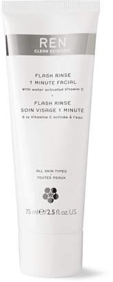 Ren Skincare Flash Rinse 1-Minute Facial, 75ml