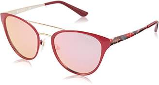 Vogue Women's Metal Woman Non-Polarized Iridium Oval Sunglasses