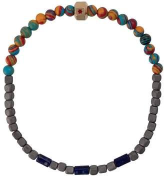 Luis Morais enameled star octagon bracelet