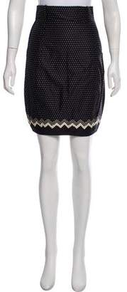 Gianni Versace Printed Knee-Length Skirt