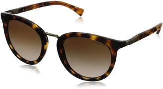 Polo Ralph Lauren Women's 0RA5207 Round Sunglasses