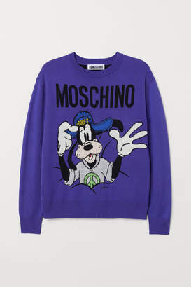H&M Merino Wool Sweater - Purple