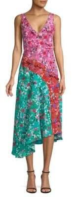 Saloni Aggie Silk Dress