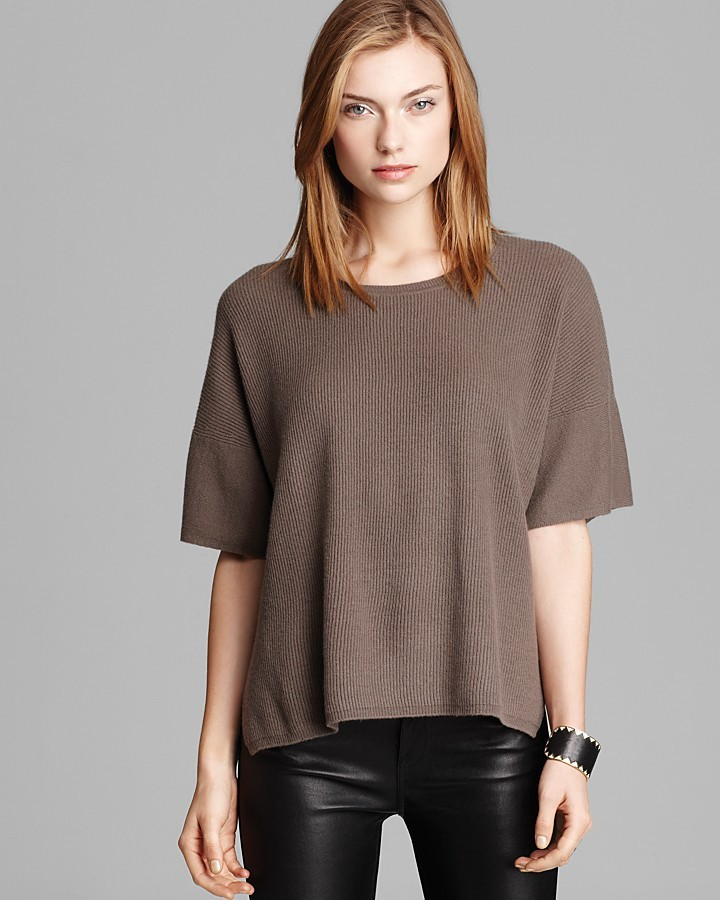 Vince Sweater - Short Sleeve Cashmere