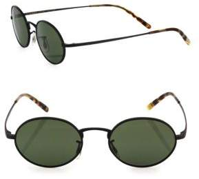 Oliver Peoples The Row Empire Suite 49MM Oval Sunglasses
