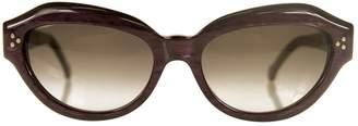 Non Signé / Unsigned Non Signe / Unsigned Purple Plastic Sunglasses
