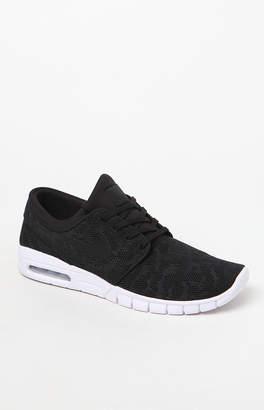 New Balance Nike Sb Stefan Janoski Max Black & White Shoes