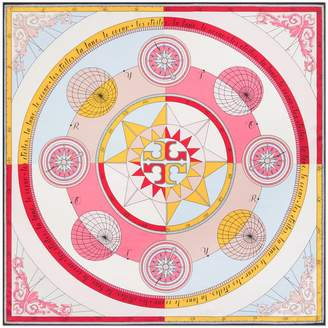 Tory Burch CONSTELLATION SILK SQUARE SCARF
