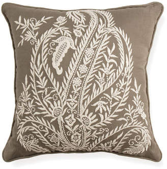 """Napa Home and Garden Isabel Paisley Pillow - 16\"""" x 16\"""""""