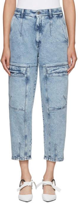 Stella McCartney Blue Leane 80s Wash Jeans