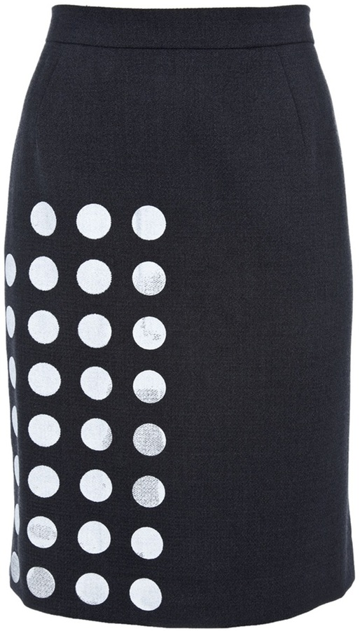 Libertine Screen printed skirt
