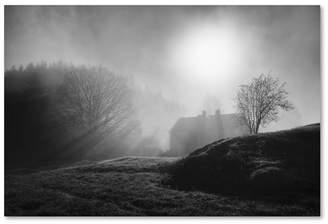 "Arvid Lars Hellebo 'Pastoral Song' Canvas Art - 19"" x 12"" x 2"""