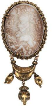 Gucci Brooch with cameo