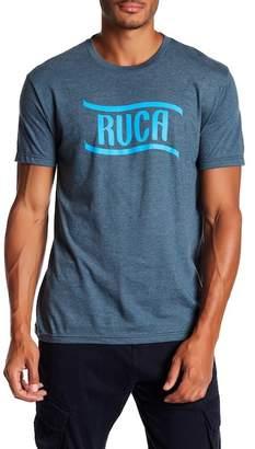 RVCA Flag Wave Logo Tee