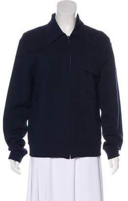 Maison Margiela Collared Zip-Up Jacket