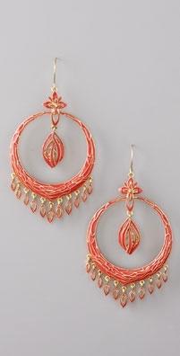 Lee Angel Jewelry Papillion Hoop Earrings