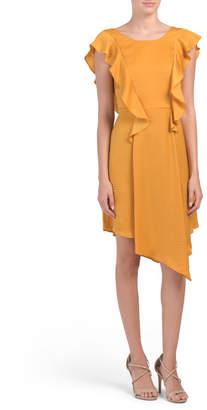 BCBGeneration Flutter Sleeve Woven Dress