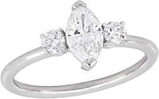 Affinity Diamond Jewelry Affinity 9/10 cttw Marquise Diamond Engagement Ring, 14K