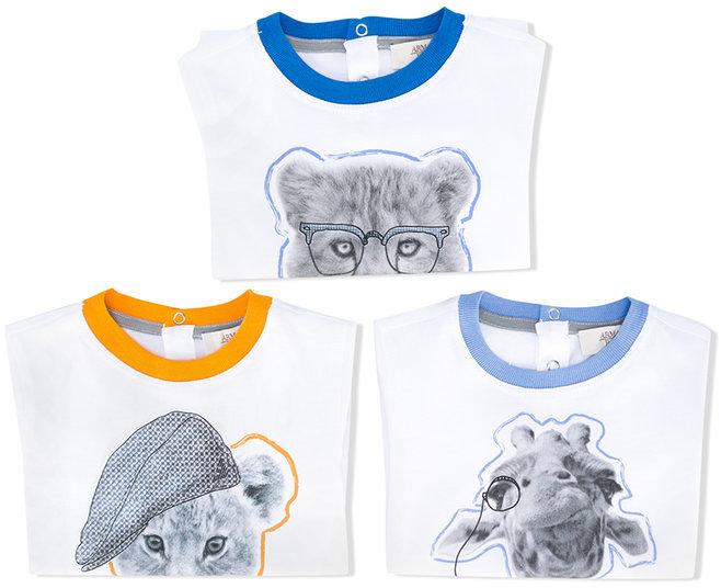 Armani JuniorArmani Junior animal print T-shirt
