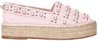 Sebastian 40mm Embellished Canvas Espadrilles