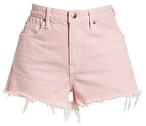 Alexander Wang Women's Bite Cut-Off Denim Shorts