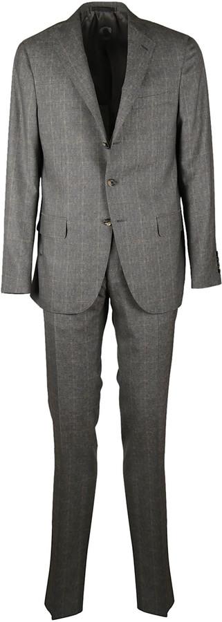 CarusoCaruso Checked Suit