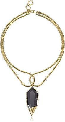 Noir Luster Choker Necklace
