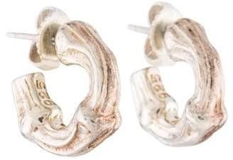 Tiffany & Co. Bamboo Hoop Earrings