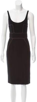 Fendi Sleeveless Midi Dress
