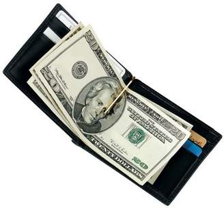 Royce Leather Men's Money Clip Wallet in Genuine Leather