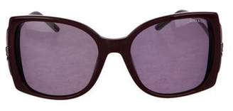 Nina Ricci Oversize TInted Sunglasses