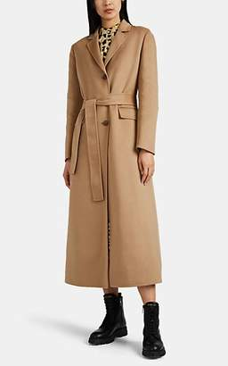 Prada Women's Cashmere-Wool Belted Coat - Camel